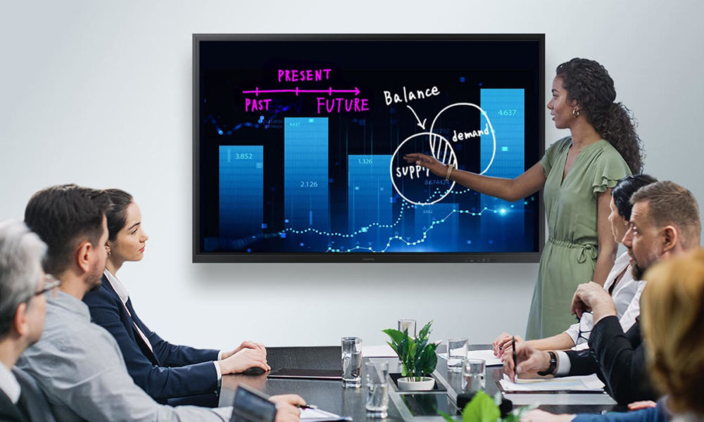Samsung Flip 75 expands the offerings of interactive screens