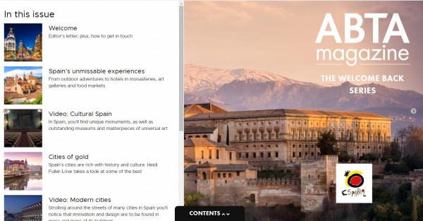 ABTA and London OET promote Spain in the UK