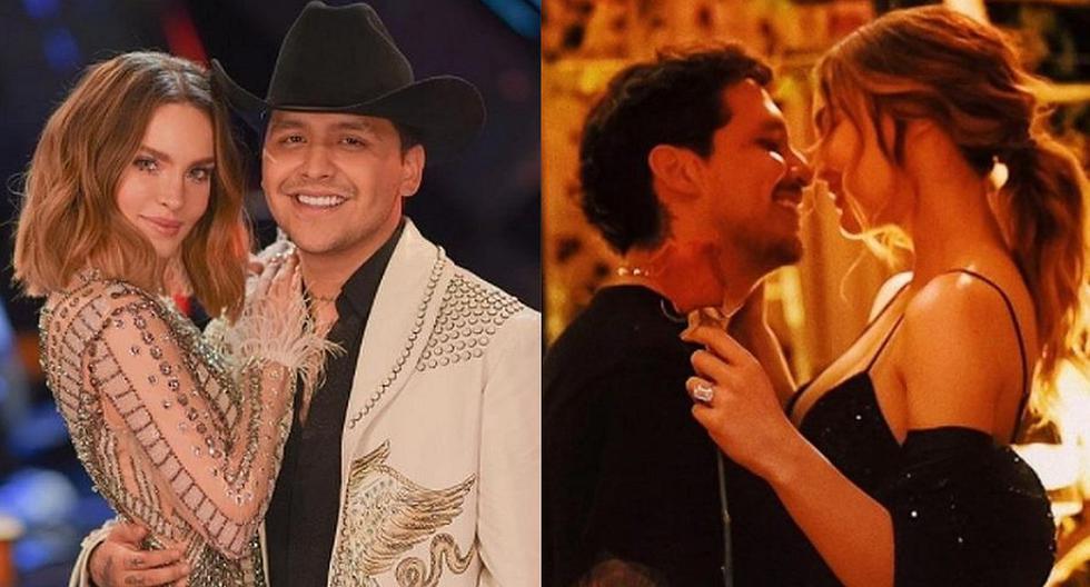 Belinda: Bridal engagement ring designer from Christian Nodal reveals details Mexico USA USA nndc |  Mexico