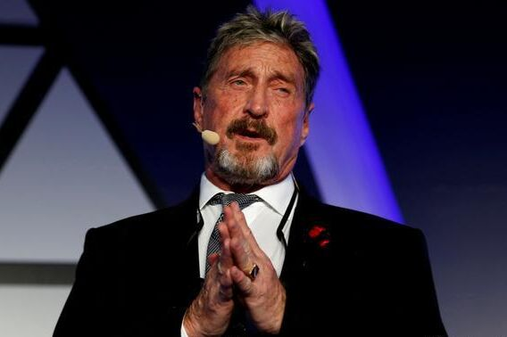 Justice is considering whether to extradite John McAfee to the United States