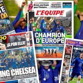 UEFA Champions League Chelsea Champion: European Newspaper Covers With Havertz Portrait, Guardiola Criticism, Aguero's Scream