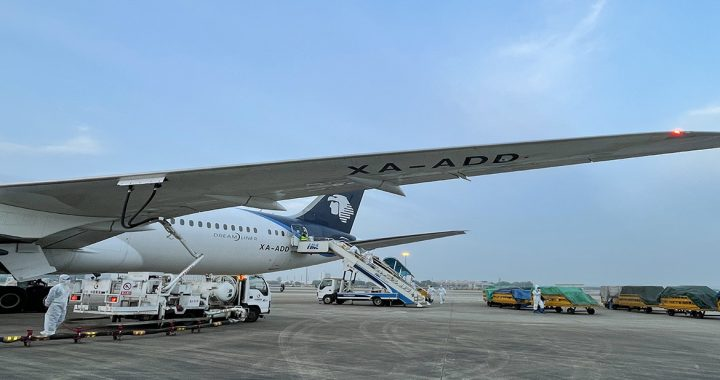 Air Mexico starts the route between Wuhan and Mexico