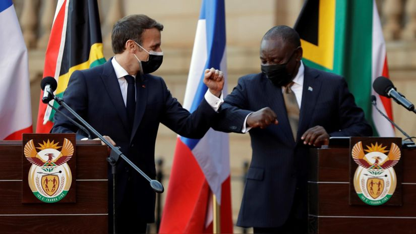 Coronavirus    Emmanuel Macron defends that Africa is receiving technology to produce vaccines against COVID-19