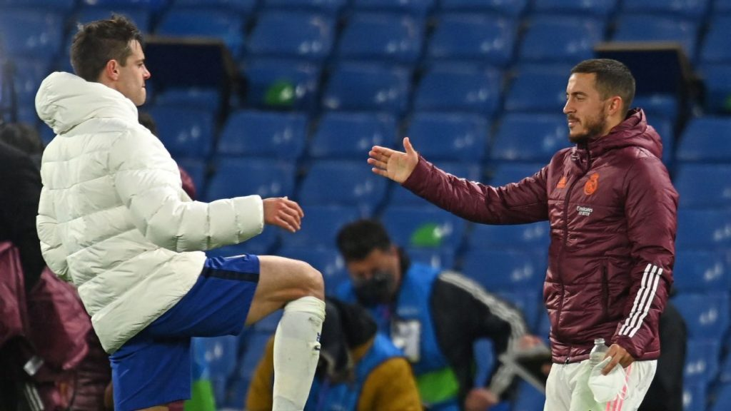 """Eden Hazard caused great annoyance at Real Madrid because of his """"unbearable"""" position after his elimination against Chelsea."""