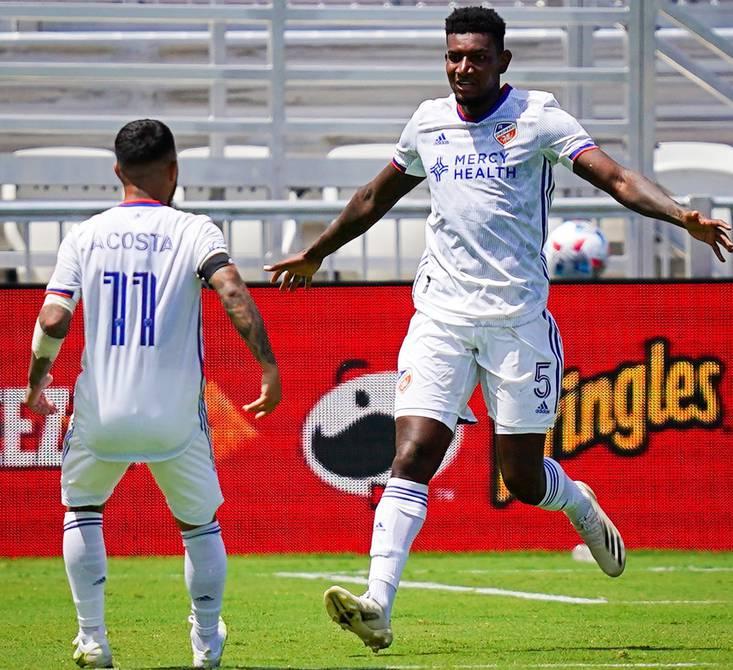 Gustavo Vallisela scores FC Cincinnati win in MLS    Ecuadorians abroad    Sports