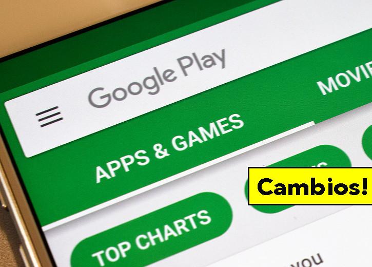 Cambios importantes en Google Play: se copiará de la App Store