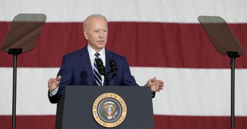 "Joe Biden proposed a $ 6 trillion budget to ""reinvent"" the US economy"
