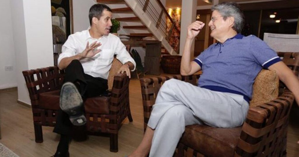 """Juan Guaidó highlighted the arrival of Guillermo Laso to the Presidency of Ecuador: """"We know his commitment to Venezuela and freedom."""""""