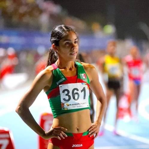 La jalisciense Mariela Real impuso récord mexicano en 800 metros con 2:00.92 minutos para ocupar el octavo lugar en Portland, superando la marca que hizo Ana Guevara de 2:01.12 en los Juegos Centroamericanos y del Caribe Maracaibo 98, cuando ganó la medalla de plata.