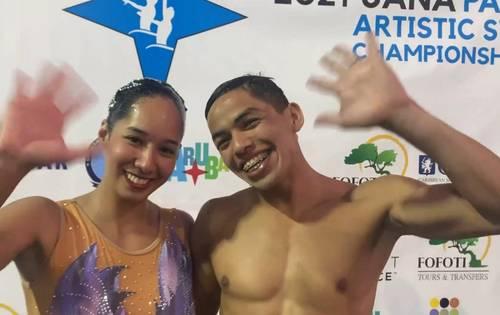 El dueto mixto de Amaya Velázquez y Joel Benavides se adjudicaron la presea en la justa que se realizó en Aruba, clasificatorio a los Juegos Panamericanos Junior de Cali-Valle 2021.