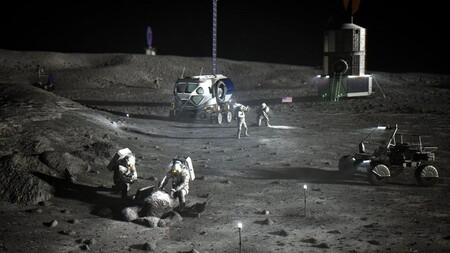 NASA Lunar Astronauts South Pole Jpeg computer adaptation 1920 average