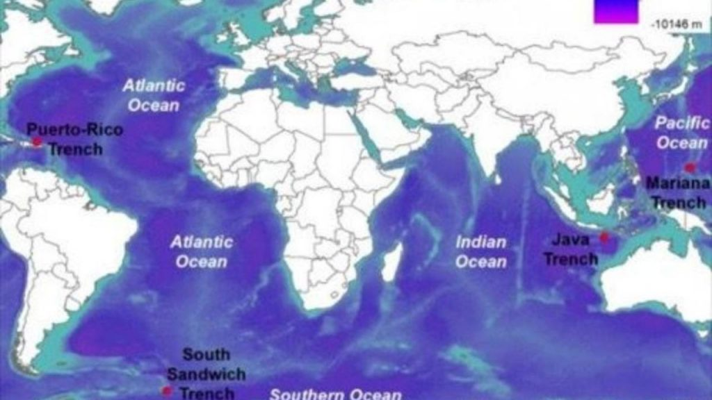 Measuring the ocean's deepest points