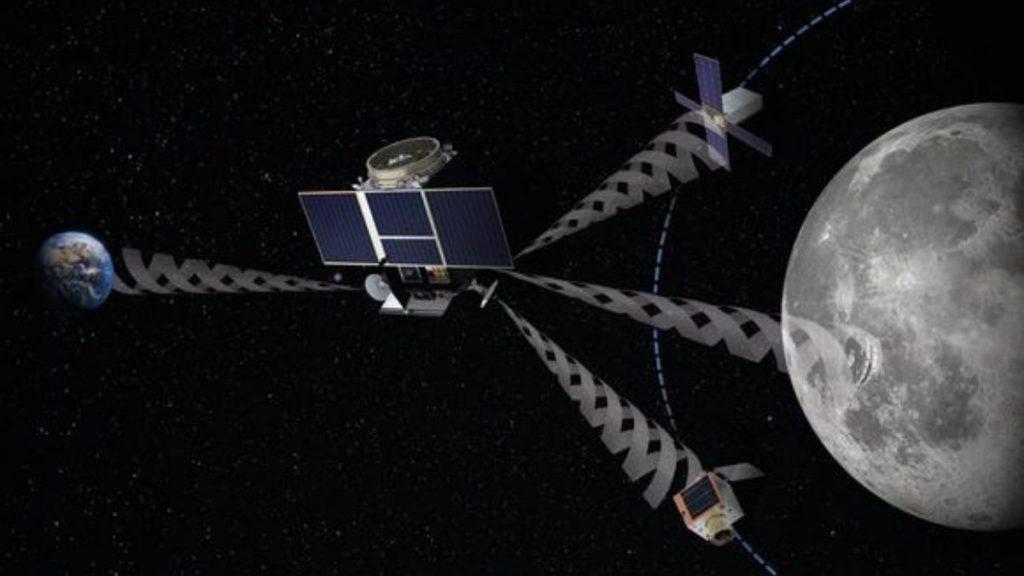 Luna constelación satélites GPS Skype ESA misiones