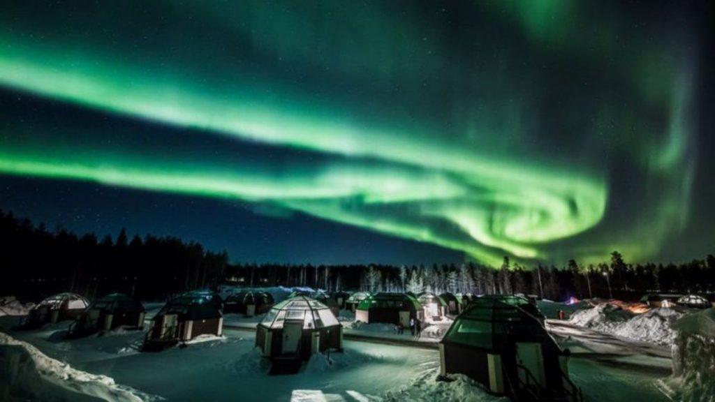 Aurora boreal tormenta geomagnética NASA vigilancia