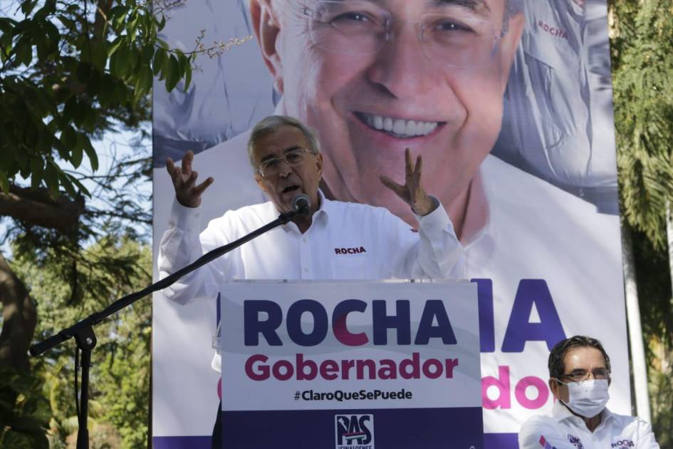 Rocha promises to support science and technology if he wins the position of governor