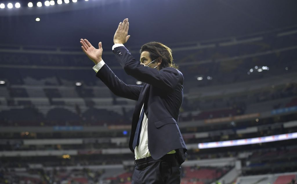 Santiago Solari was eliminated and he repeated the story of his uncle Jorge