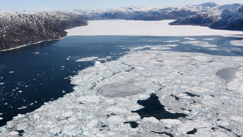 Science    The study found that Arctic sea ice is succumbing to inflation