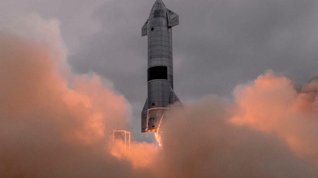 Spacecraft flight from Texas to Hawaii