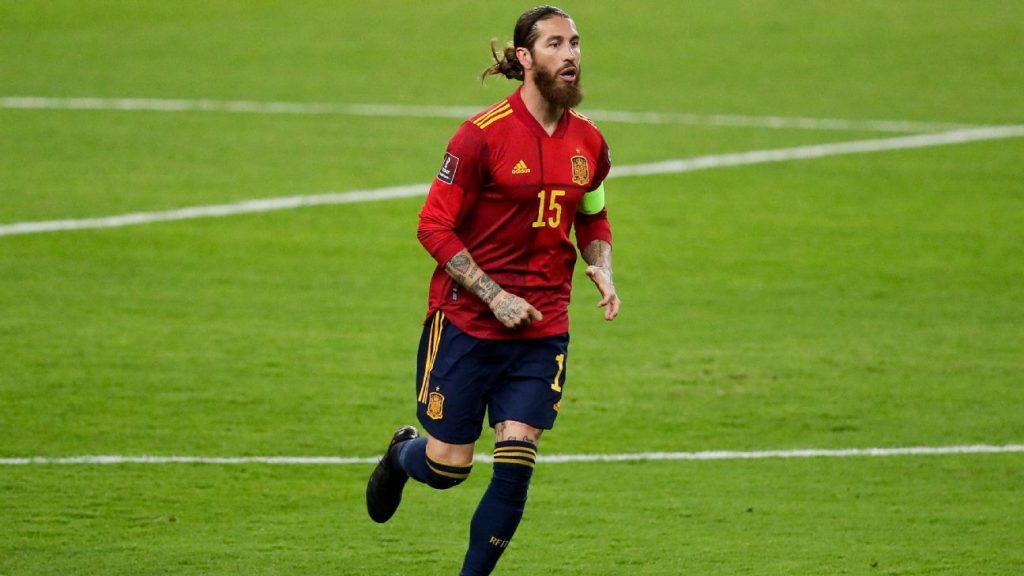 Spain leaves Sergio Ramos outside the European Cup