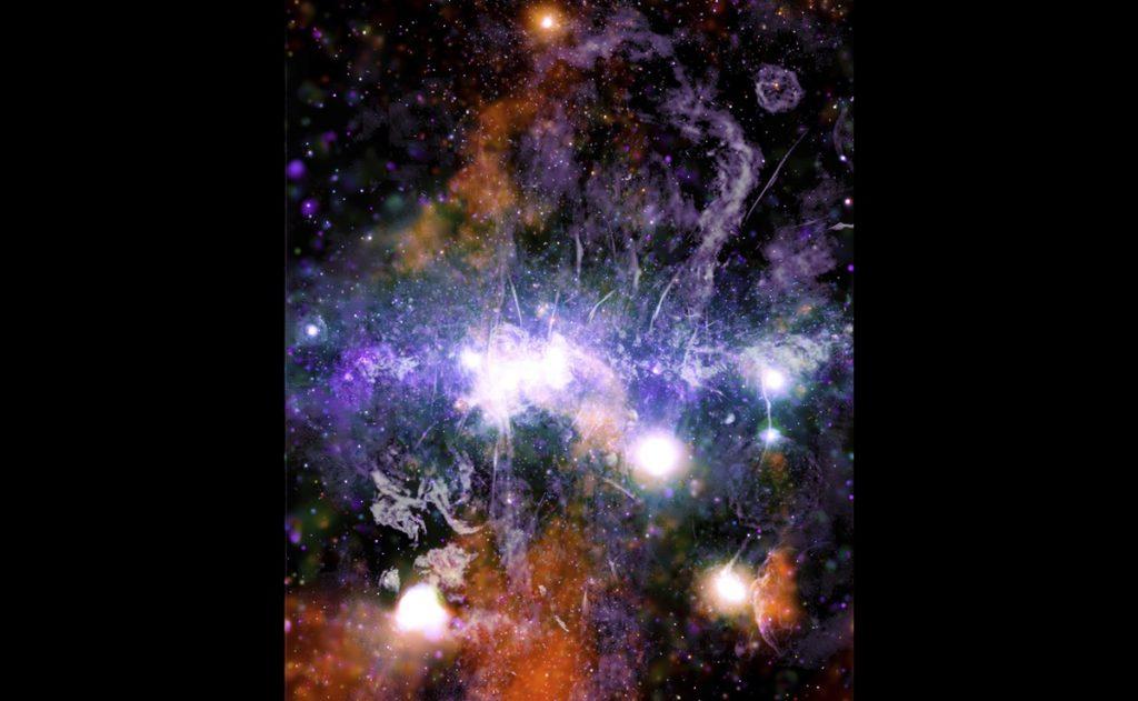 Panorámica de la Vía Láctea