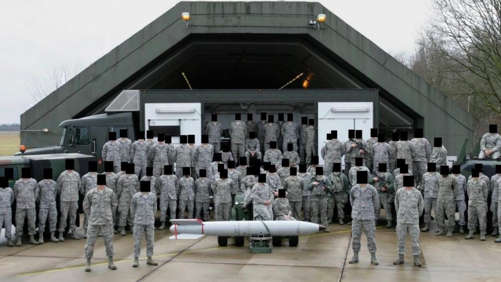 US soldiers have accidentally uncovered nuclear weapons sites