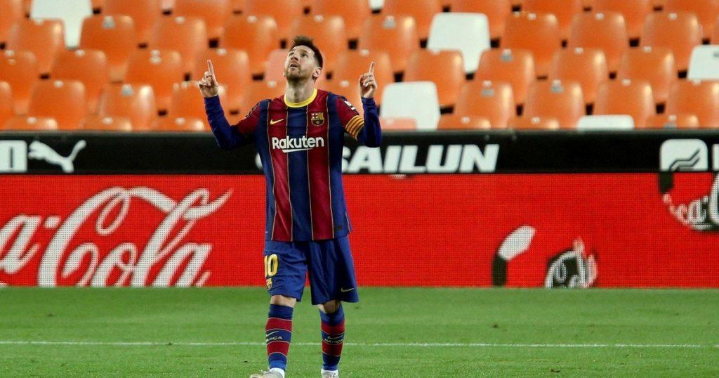 Valencia vs Barcelona, from the Spanish League: goals, summary and result