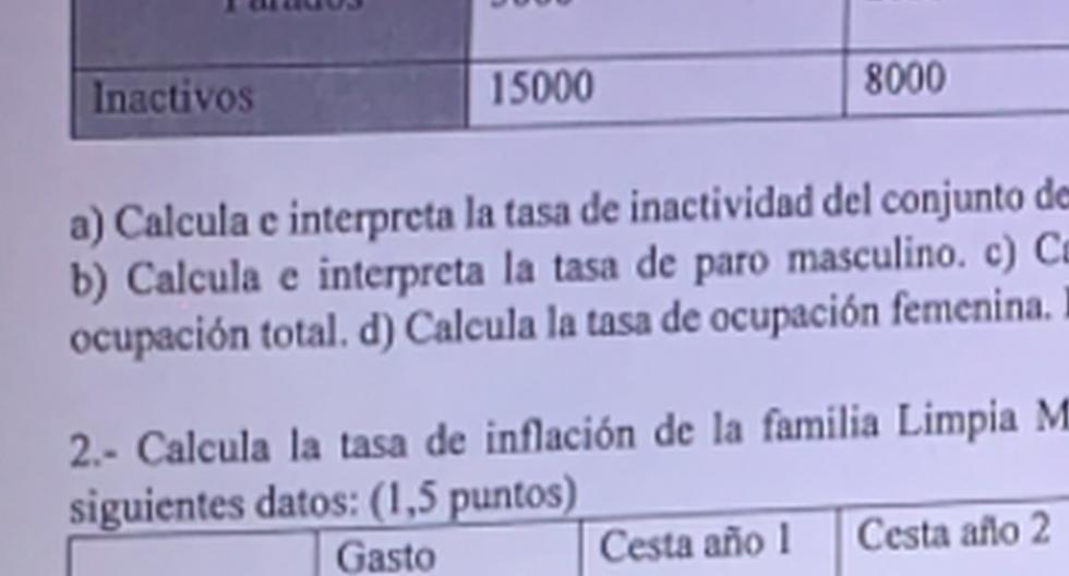 Viral image |  The single statement that the economics professor put to the test wins on the Internet |  Social networks  Twitter |  Mexico