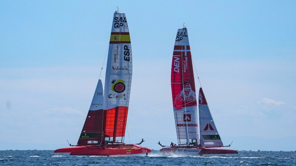 SailGP arrives in Italy and the F50 Victoria makes its European debut