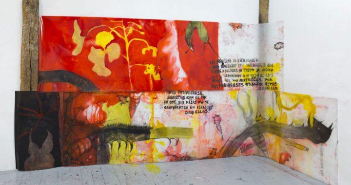 Susana Talayero. Viaje a Surinam (Flos Pavonis), 2020-2021. Colección de la artista