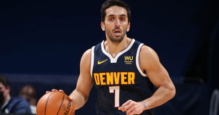 Facundo Campazzo, revelación en su primer año en la NBA.