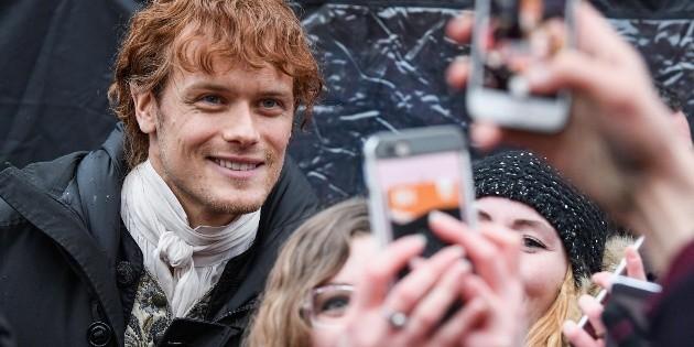 Outlander |  Sam Heughan upset his fans with Men in Kilts |  spoiler