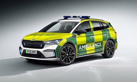 skoda enyaq iv for emergencies in the UK
