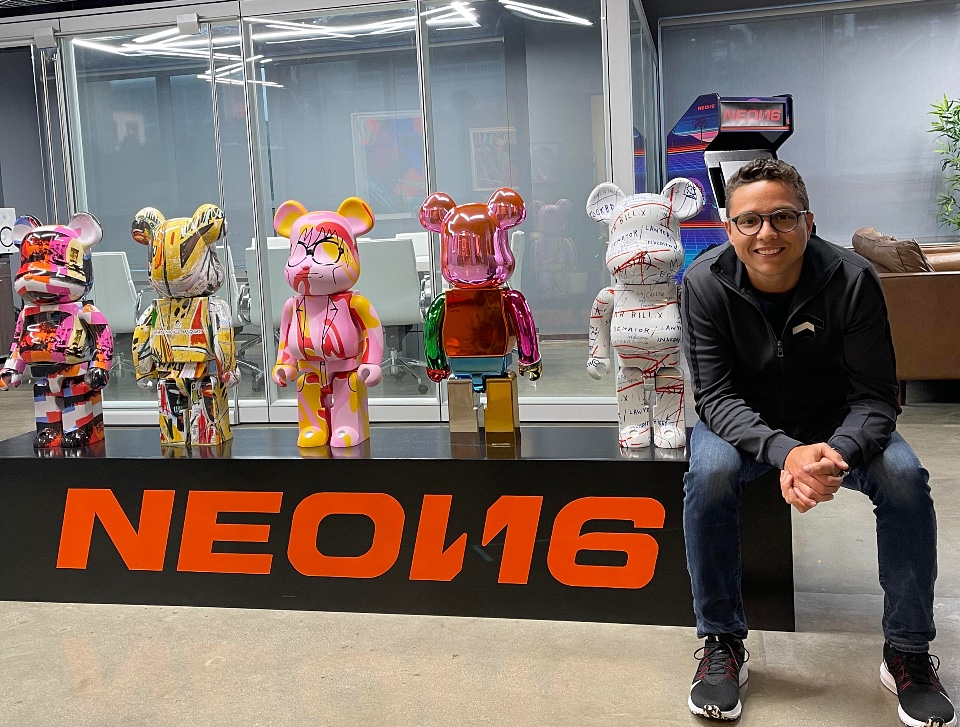 Venezuelan Alejandro Vicuña joins NEON16 and advances his career in the United States