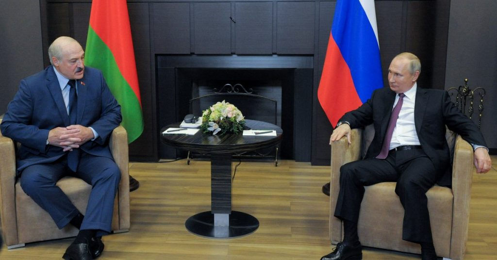 Brussels urged the European Union to increase pressure on the Lukashenko regime and warned against strengthening the alliance with Russia