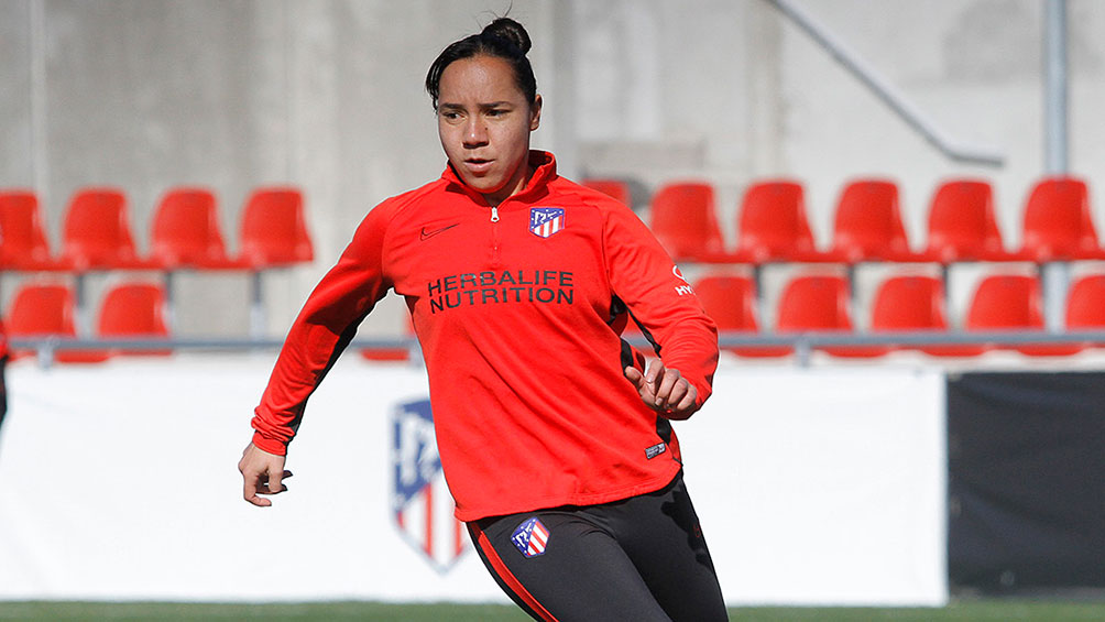 Charlene Corral with Atletico Madrid has agreed to terminate his contract