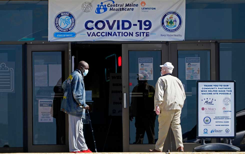 Covid is spreading across the US and fewer people are being vaccinated