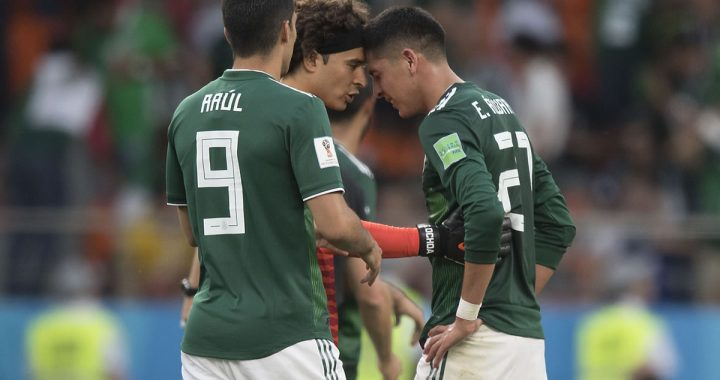 Edson Alvarez admitted that GC Osorio nearly wiped him out of Russia 2018