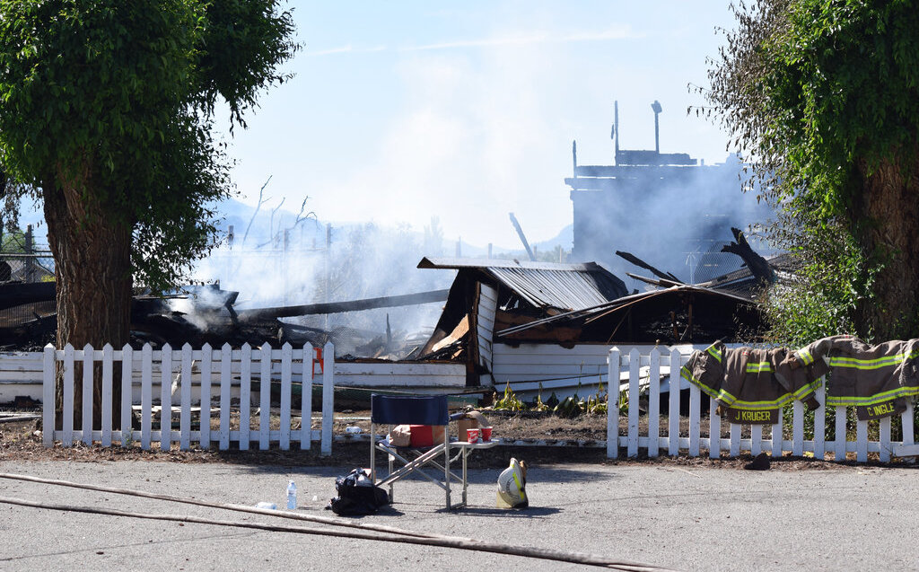 In Canada, churches were set on fire after children's bodies were found