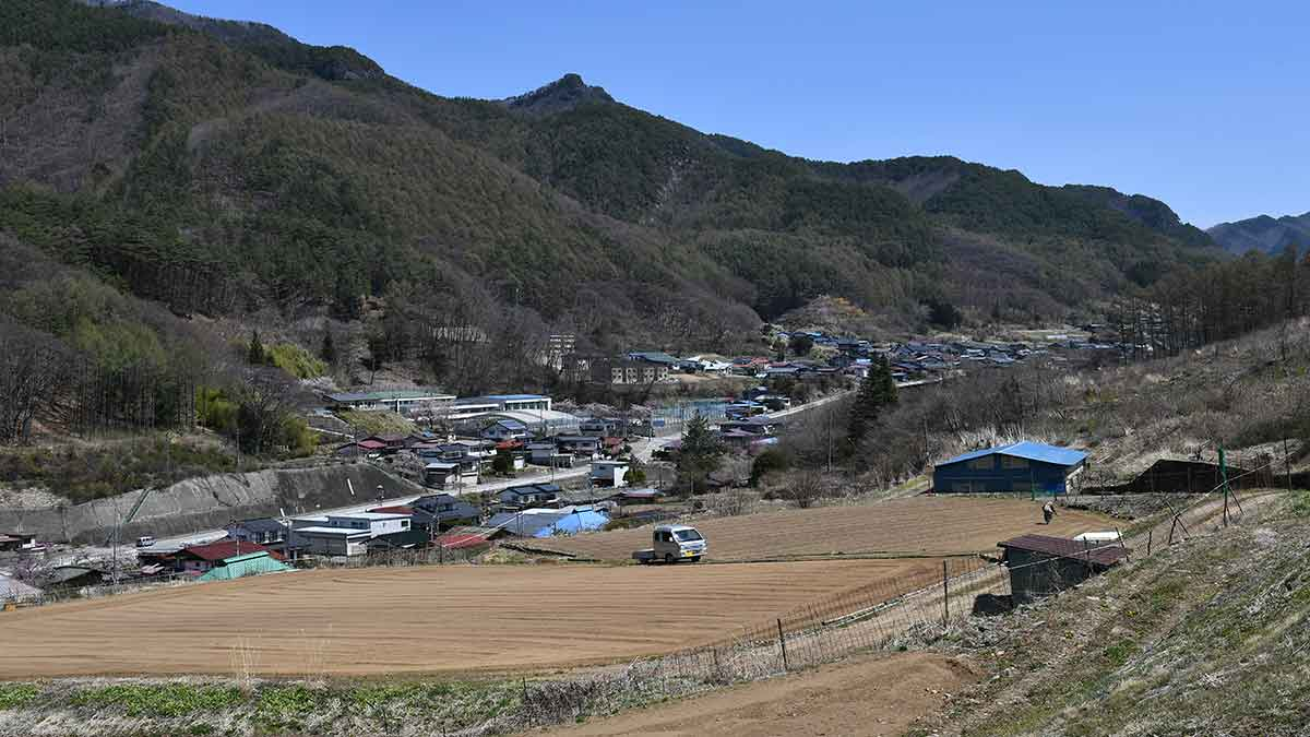 In Nagano you can buy a house for $453 to live in Japan