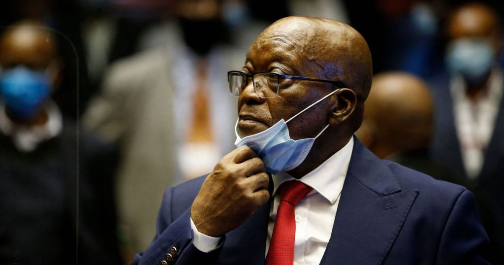 Jacob Zuma, former South African president, sentenced to 15 months in contempt - El Financiero
