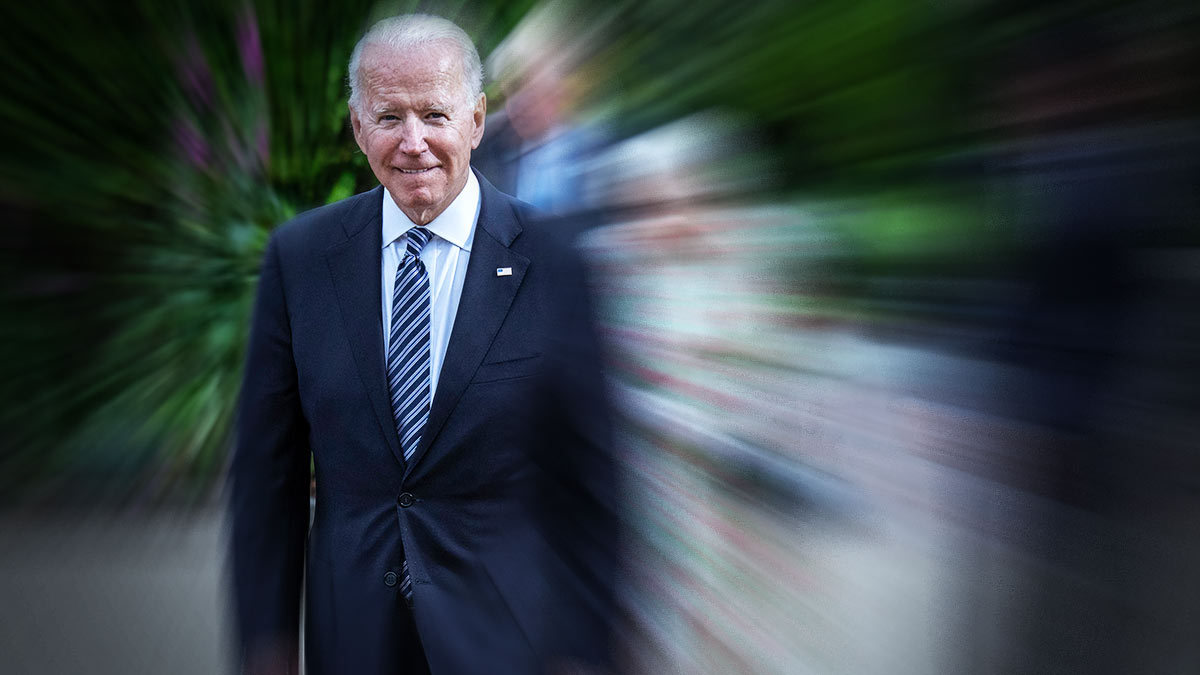 Joe Biden gets lost in the cafeteria during G7 and