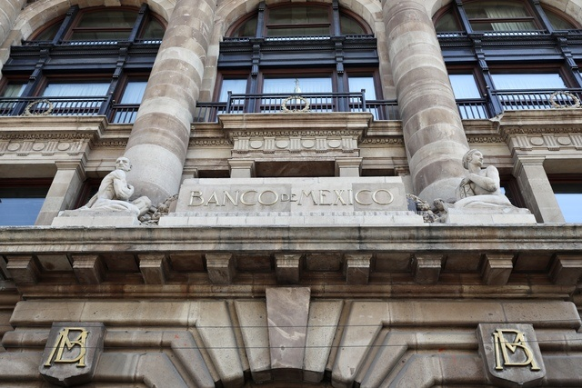 Sede del Banco de México en la capital del país.