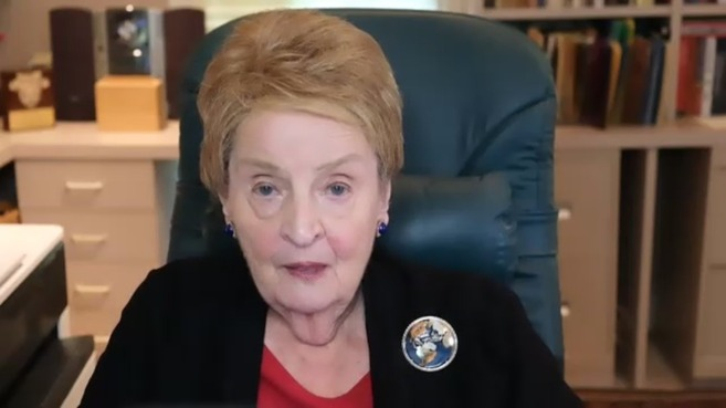 """Madeleine Albright: """"America and Europe, including Spain, must lead. Otherwise, others will take our place"""""""