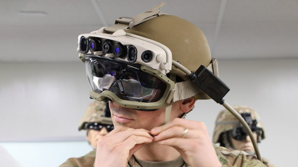 New details emerge about US military's HoloLens technology تقنية