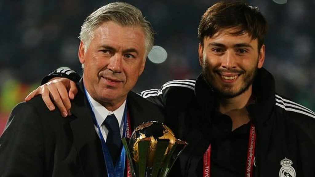Davide Ancelotti, así es el hijo y ayudante técnico de Carlo