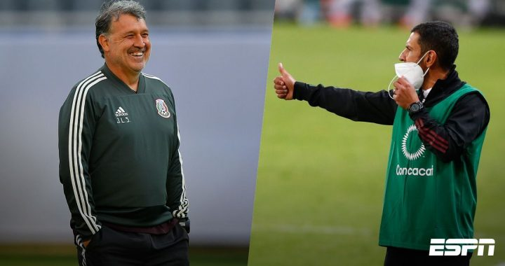 Tata Martino and Jimmy Lozano, the duo who combined to give the Mexican national team $2 million مليون