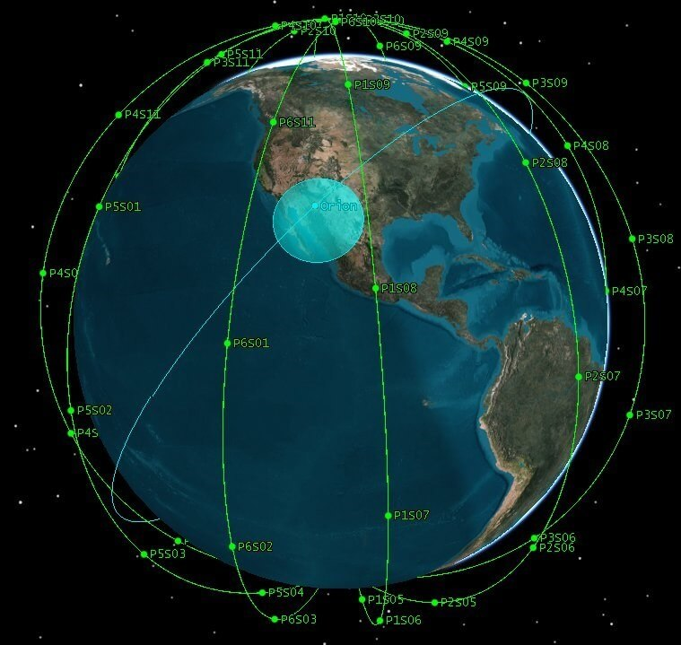 The United States chooses iridium to develop a payload for its low Earth orbit satellite navigation system