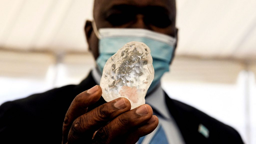 The third largest diamond in the world can be found in Africa