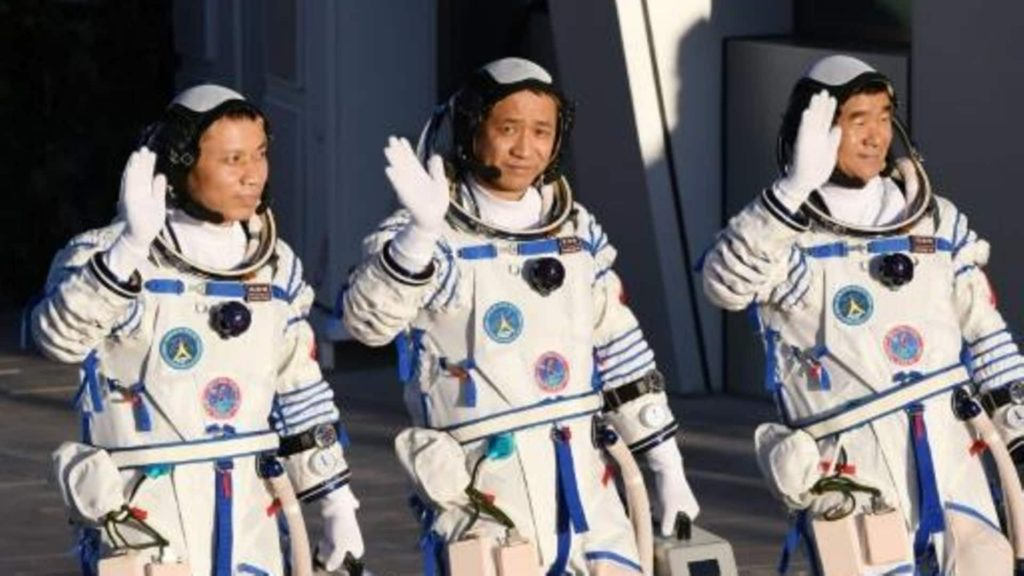China's first astronaut to walk in space