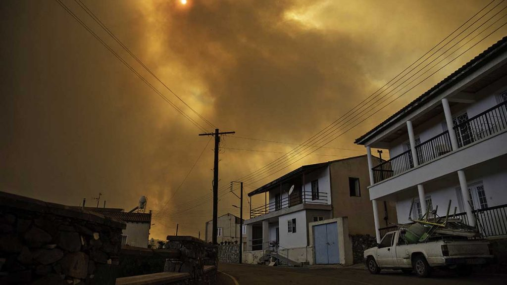 Cyprus records its worst fire since 1974